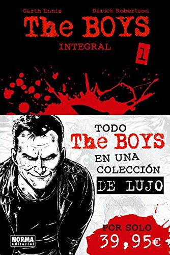 The Boys 1 (Integral) (CÓMIC USA) por Garth Ennis