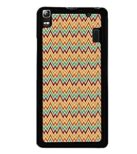 Fiobs Designer Back Case Cover for Lenovo K3 Note :: Lenovo A7000 Turbo (jaipur rajasthan african america cross pattern)