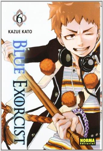 BLUE EXORCIST 6 (CÓMIC MANGA) por Kazue Kato