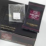 Tè nero Early Grey DAMMANN FRÈRES 24 buste vetro France thé black teabags (Fra)