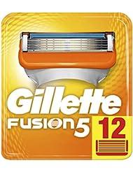 Gillette Fusion5 Lames De Rasoir Pour Homme - 12Recharges