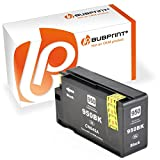 Bubprint Druckerpatrone kompatibel für HP 950XL für Officejet Pro 251DW 276DW 8100 ePrinter 8600 Plus 8610 8615 8616 8620 8625 e-All-in-One Schwarz