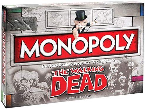 The Walking Dead Monopoly Jeu de Société Société Société B07CM87R27 215463
