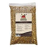 Perfetto Mix di Cibo Alimento per Pappagallini Ondulati con Semi e Noci Deluxe, Confezione da 1kg, SeedzBox Mangime Budgerigar Budgie Food