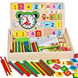 YGMDSL Toys Puzzle Digital Operation Clock Cognition Learning Box Preschool Early Education 3-6