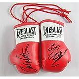 Apollo Creed v Rocky Balboa Autographed mini Boxing Gloves (pair)