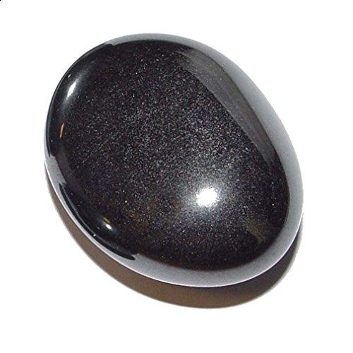 Hämatit auch Blutstein genannt Trommelstein Handschmeichler gute Polierung grau glänzend ca. 30 mm.(4145)