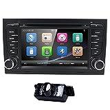 navihouse für Audi A42002–200817,8cm Autoradio 2Din Auto-DVD-Stereo GPS Navi Player + HD Kamera