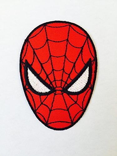 n Superheld Maske Marvel Eisen auf Sew auf bestickt Patch, Small(5.5x8cm) (Echte Superhelden Kostüme)