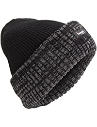 Universal Textiles Mens Thinsulate Thermal Knit Winter Beanie Hat (3M 40g)
