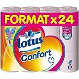 Lotus Confort 24 Rouleaux de Papier Hygiénique Aquatube