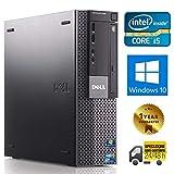 PC COMPUTER DESKTOP FISSO CON WINDOWS 10 PRO   DELL OPTIPLEX 980 SFF   INTEL QUAD CORE i5-650   RAM 8GB   SSD 240GB   LETTORE DVD   VGA - DISPLAY PORT (Ricondizionato)