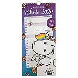 Pummel & Friends - Pummeleinhorn Wandkalender für zwei 2020, 34,5 x 16 cm