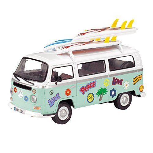 Dickie Toys - 13 Inch Surfer Van, 1/14 Scale by Action