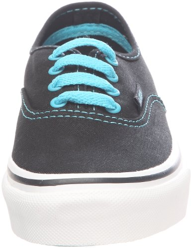 Vans Authentic VOKN5R2 Mädchen Sneaker Schwarz (black/peacock blue)