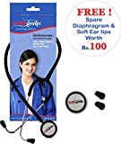 Best Stethoscopes - Healthgenie HG-101B Mono Nurses Stethoscope (Black) Review