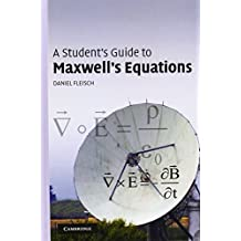 A Student's Guide to Maxwell's Equations by Daniel Fleisch (2008-01-10)