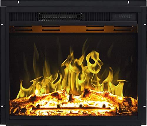 Inserto para chimenea eléctrico AFLAMO LED 90 | Tecnología LED de ahorro...