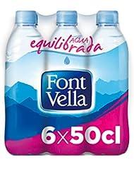 Font Vella Agua Mineral Natural - Pack 6 x 0,5 l