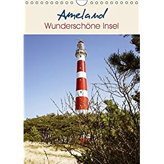 Ameland Wunderschöne Insel (Wandkalender 2019 DIN A4 hoch): Ameland, eine naturbelassene westfriesische Insel in der Nordsee. (Monatskalender, 14 Seiten )