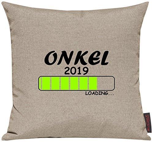 Kissenhülle für Auserwählte! Sofakissen Loading ONKEL 2017, Farbe taupe