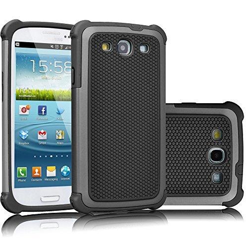 Galaxy S3Fall, tekcoo (TM) [tmajor Serie], Hybrid Gummi Kunststoff Impact Defender Rugged Slim Hard Case Cover Shell für Samsung Galaxy S3S III i9300GS3alle Netzbetreiber