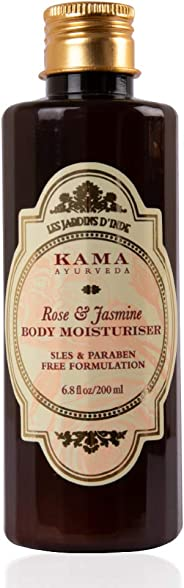 Kama Ayurveda Rose and Jasmine Body Moisturiser, 200ml