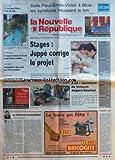 NOUVELLE REPUBLIQUE (LA) [No 15880] du 11/01/1997 - LES ALLEMANDS EUROSCEPTIQUES PAR GUENERON - A 85 - OUVERTURE DU TRONCON ANGERS-SAUMUR - STAGES - JUPPE CORRIGE LE PROJET - ZUP DE BLOIS UN JEUNE HOMME MEURT D'UNE OVERDOSE