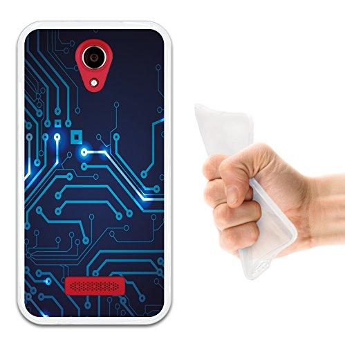 WoowCase Doogee X3 Hülle, Handyhülle Silikon für [ Doogee X3 ] Rundgang Handytasche Handy Cover Case Schutzhülle Flexible TPU - Transparent