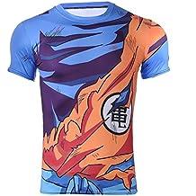 CoolChange Camiseta de Super Sayajin, Talla: L