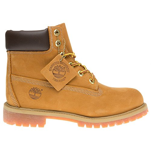 Timberland - Premium Boot - Mixte Junior gris/marron