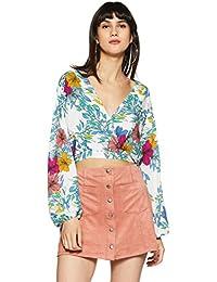 c0d7cd0084c Forever 21 Women s Floral Regular Fit Shirt