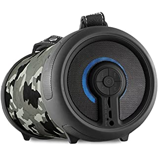 Imperial 22-9067-00 BEATSMAN 2 Mobiler Bluetooth 2.1 Lautsprecher mit UKW Radio (MicroSD Kartenleser, AUX Eingang) camouflage
