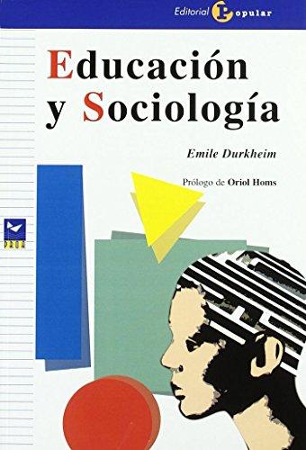 Educaci¢n y Sociolog¡a (Proa)