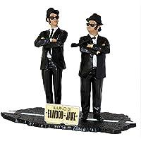 The Blues Brothers - Jake y Elwood, set de 2 figuras, 17 cm (SD Toys SDTUNI89074)
