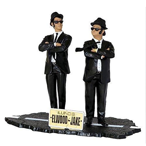 SD Toys Film Ikonen der Blues Brothers Jake & Elwood (Figur Set, 17,8cm (Blues Brothers Figuren)