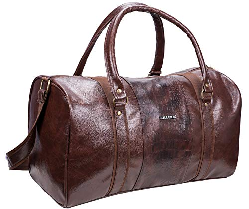 KILLER 30 L Polyester Duffle Bag (Brown)
