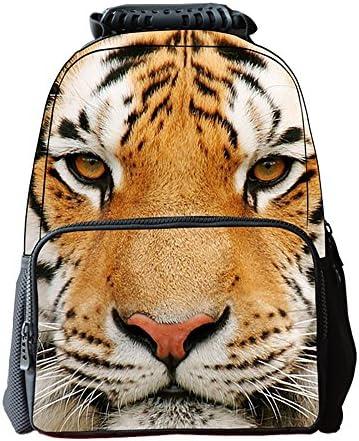 Sac d'école d'école d'école mignon étudiant sacs à dos loisirs enfants sac unisexe impression 3D chat tigre animal (PATTERN : Pattern4) | Paris  86db1f