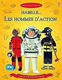 Habille... Les hommes d'action et Dans le feu de l'action - Autocollants Usborne