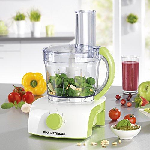 Gourmet-Maxx-Robot-de-cuisine-multifonctions-avec-3-diffrents-Inserts-pour-Mixer-1-L-350-W-vert