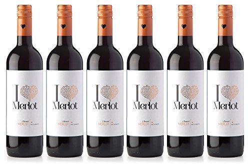 I heart Wines Merlot Halbtrocken (6 x 0.75 l)