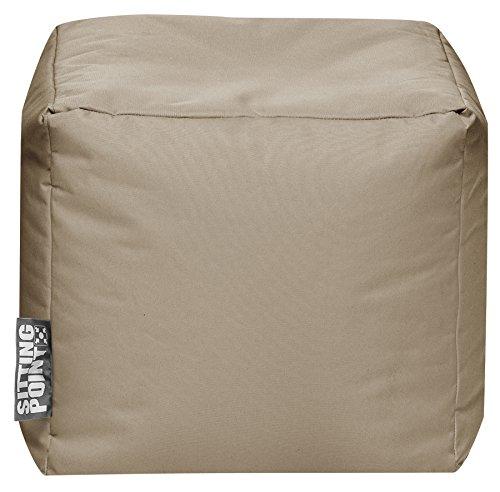 Sitzsack Scuba Cube 40x40x40cm khaki (Outdoor)