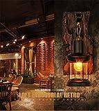 YU-K Antike Edison, Industrieausführung Wandleuchten LOFT retro Instanz Software Light Bar Kaffee Industrie das Restaurant Schlafzimmer kreative Persönlichkeit Wandleuchte ist perfekt für ein Haus bar und Restaurant Cafe Club eingerichteten Wohnzimmer Schlafzimmer Flur Balkon Treppen Lobby Shop Studio shop