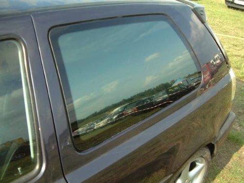 Preisvergleich Produktbild Sunstop Autofolie / Autotönungsfolie TÜV-Frei Tiefschwarz verspiegelt / Black Metall 5% für KOMBI bestehend aus 76x150cm + 50x300cm + Messer, Rakel, ABG und Montageanleitung