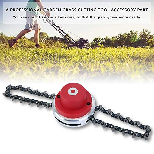 MiaZhou Lawn Mower Head Chain Trimmer Brush Cutter for Garden Grass Accessories (Cutter Lawn)