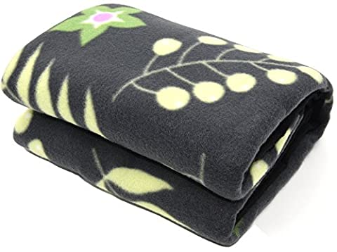 DCCN Plaid Polaire Couverture Pour Couvre-lit Sofa Canapé Portable Avec Sacs de Rangement