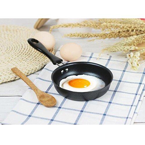 SM SunniMix Mini Sartén, Sartén Para Huevos, Sartén De Metal, Aperitivos De Exhibición, Postres O Huevos, Panqueques, Utensilios De Cocina Antiadherentes
