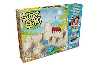 Goliath 83219 - Super-sand-set Castle, Modellierbarer Magischer Sand Bringt Burgen Ins Kinderzimmer, Handliche Sandkasten-box, Bunte Burg-förmchen, Ab 4 Jahren 6