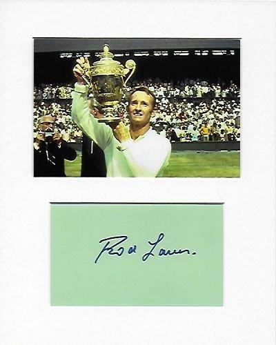 Könige der Court–Rod Laver Genuine Authentic Hand Autogramm AFTAL COA
