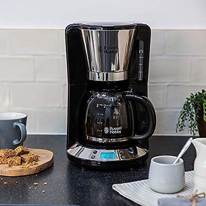 Russell-Hobbs-Digitale-Kaffeemaschine-Victory-Edelstahl-programmierbarer-Timer-125l-Glaskanne-bis-10-Tassen-Warmhalteplatte-Abschaltautomatik-1100W-Filterkaffeemaschine
